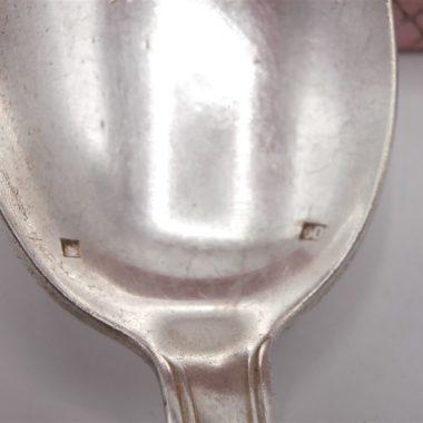 ancienne cuillere et fourchette argent