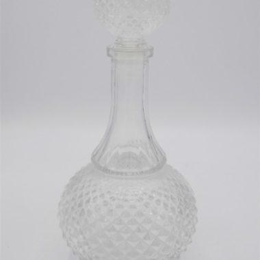 carafe verre vintage