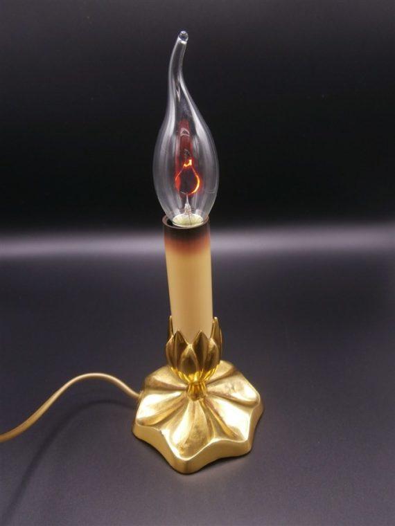 lampe flamme laiton