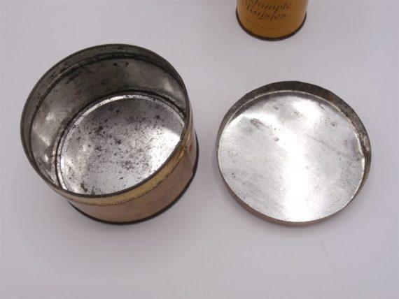 boites metal vintage