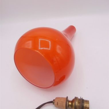 suspension vintage orange