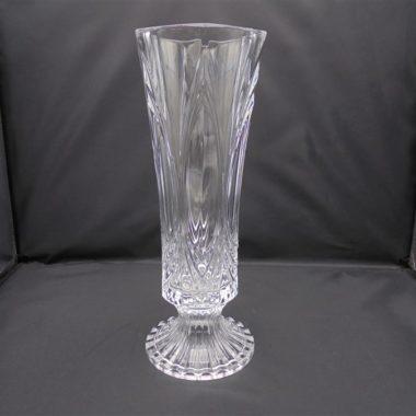 vase sur pied cristal