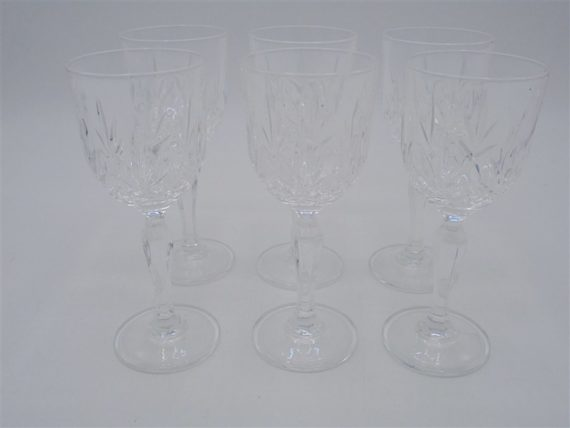 verres a pied cristal