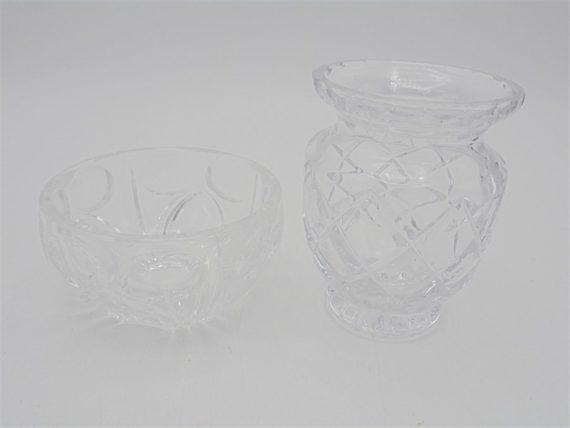 coupelle vase cristal