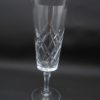 ancienne flute a champagne en cristal edinburgh crystal