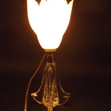lampe fleur blanche 3D
