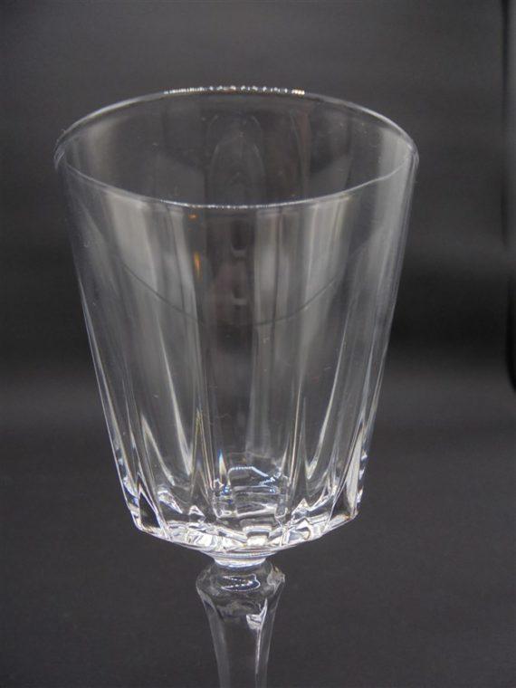 verres pied cristal
