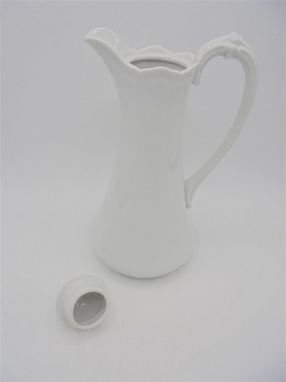 carafe the cafe ceramique porcelaine blanc