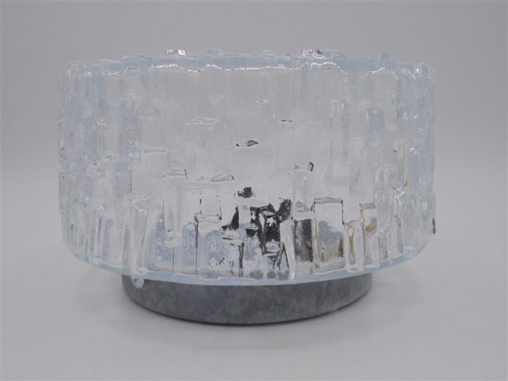 plafonnier rond verre