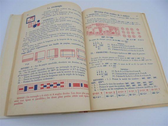 ancien livre arithmetique