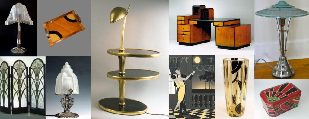 art deco blog selection brocante