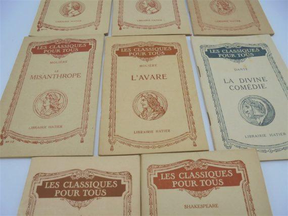 livres anciens classiques