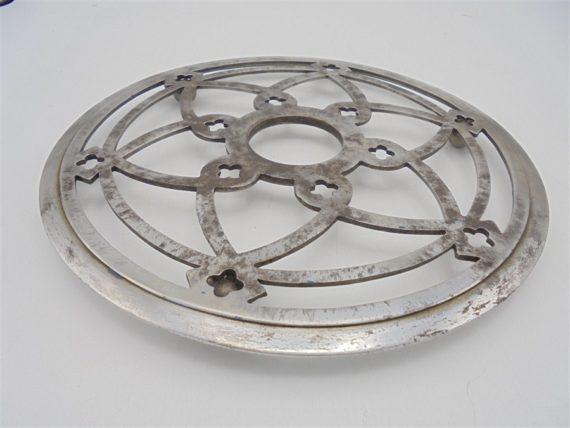 ancien dessous de plat metal vintage