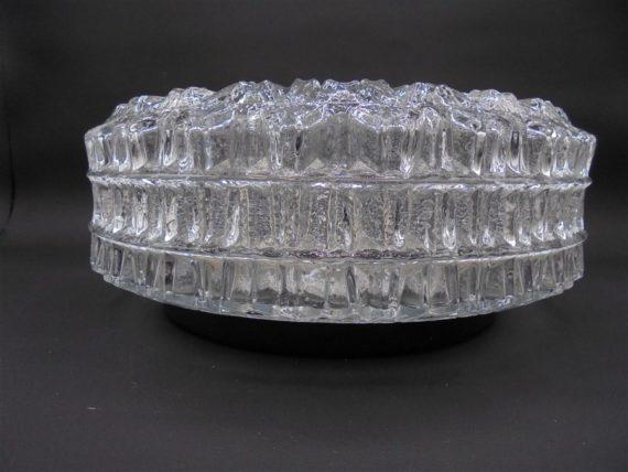 plafonnier vintage verre