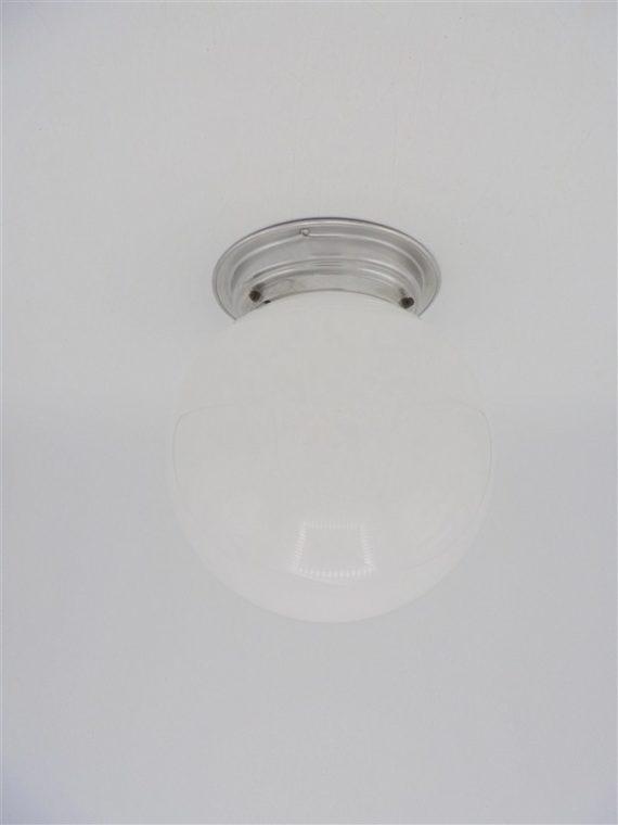 plafonnier applique boule opaline art deco