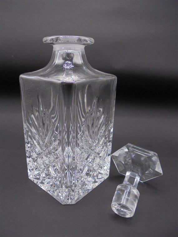 carafe whisky vintage ananas cristal