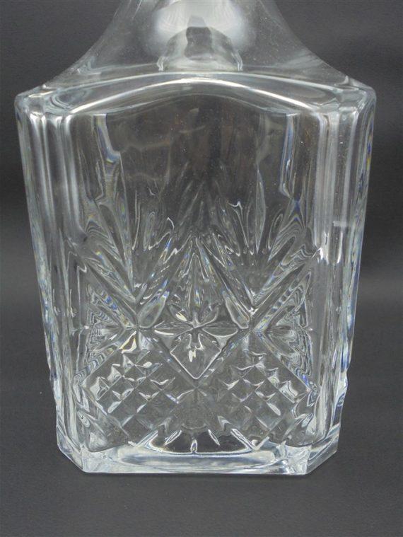 carafe whisky en cristal motifs ananas