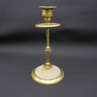 chandelier ancien laiton albatre