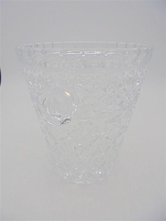 seau glace glacons vintage cristal