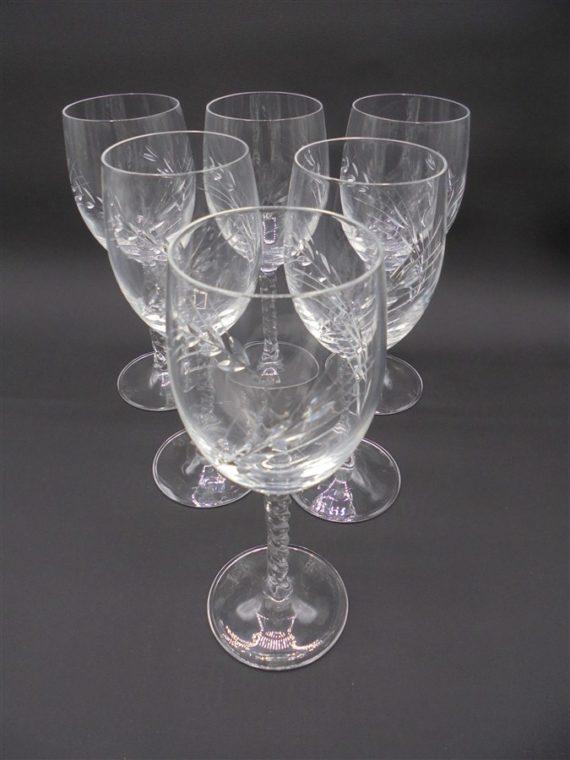 verres cristal fleury