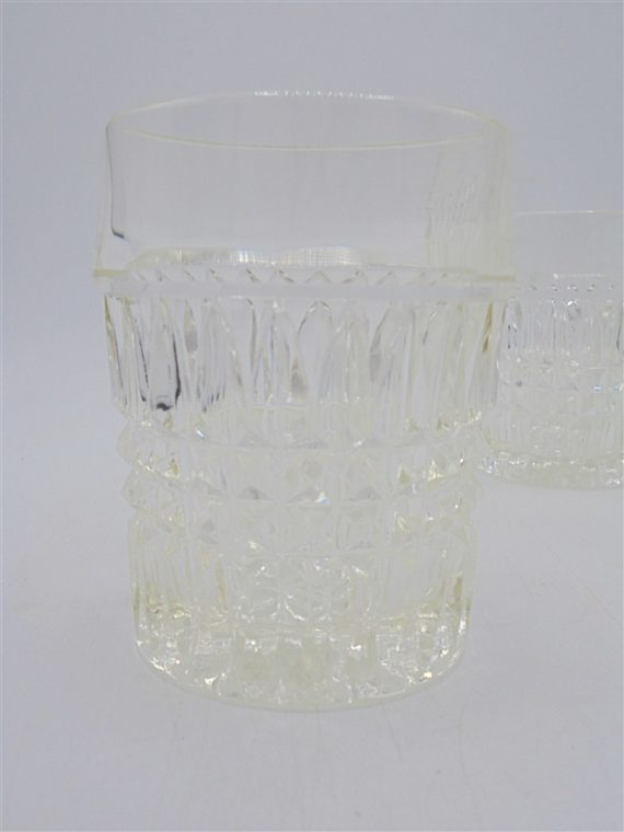 serie 4 verres anciens a whisky