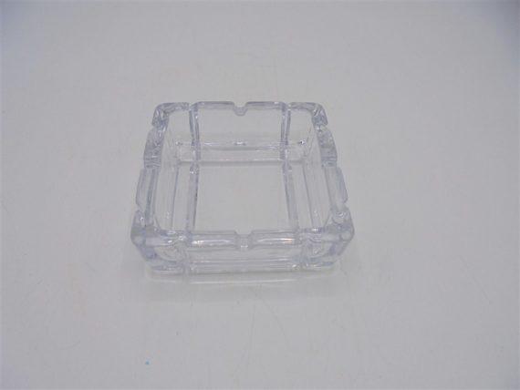 cendrier verre motifs geometriques art deco