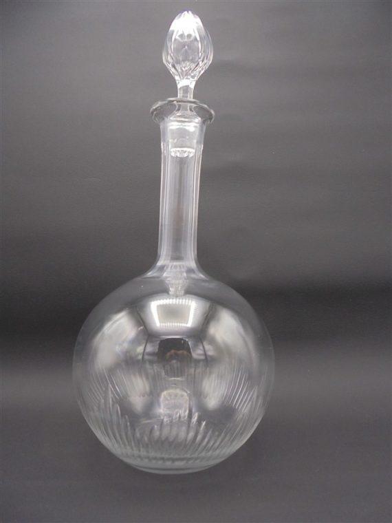 ancienne carafe cristal baccarat