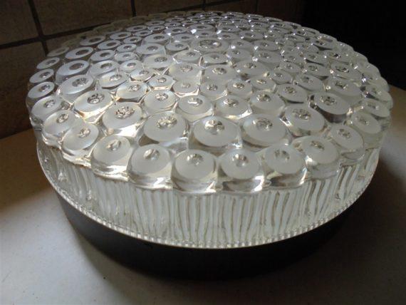 plafonnier applique luminaire allemand voronoi cellules nid abeilles lunaire organique vintage contemporain