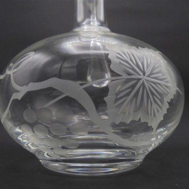 carafe cristal cisele la rochere aiguiere broc a eau
