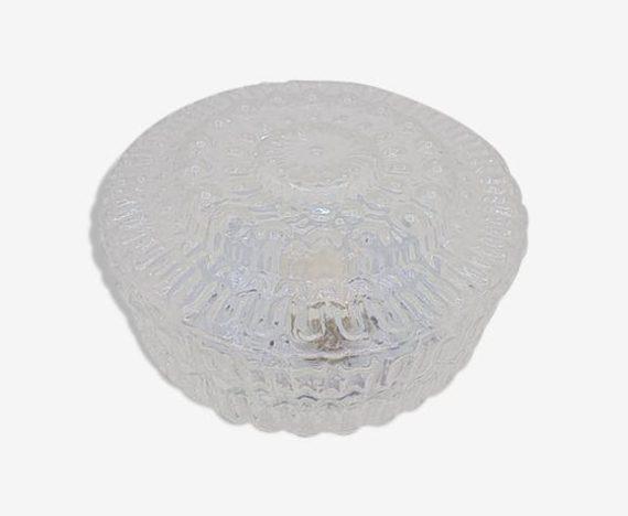 plafonnier verre rond