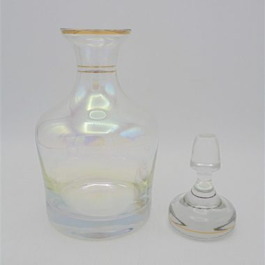 carafe whisky alcool verre irise