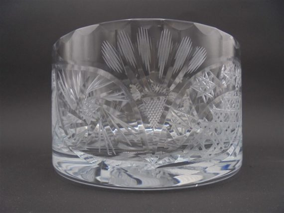 coupelle pot cristal