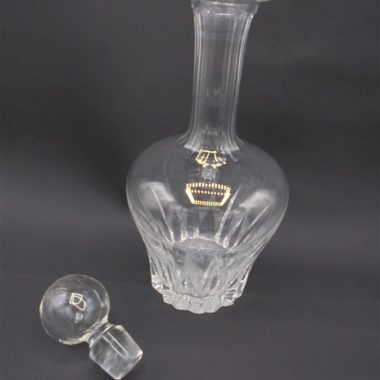 carafe cristal taille