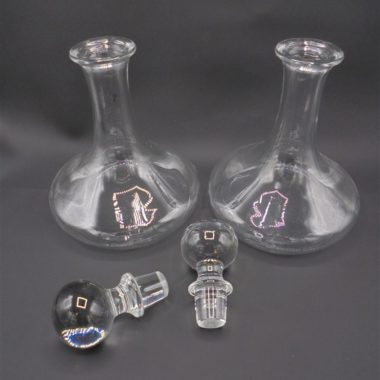 duo carafes a decanter verre
