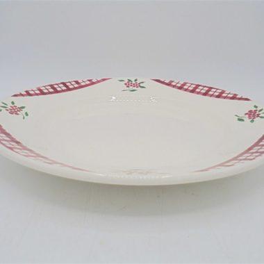 grande assiette plat digoin sarreguemines modele niger