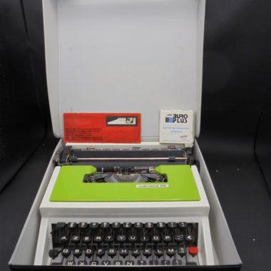 machine a ecrire underwood 315 vert vintage