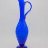 pichet aiguiere opaline bleu vase
