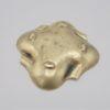 ancien cendrier bronze dore laiton