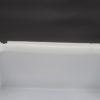ancien plafonnier applique murale carre verre blanc bega 412