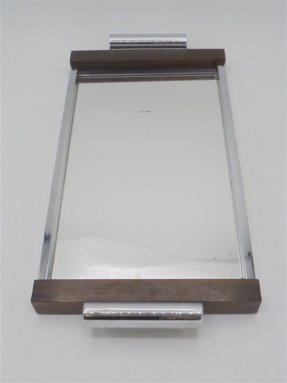 plateau miroir art deco