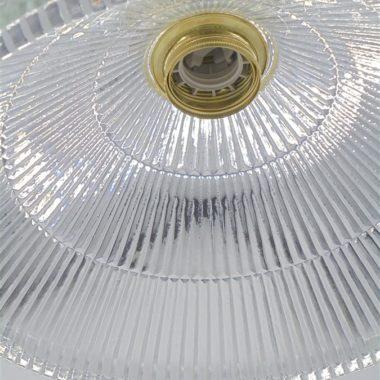 luminaire suspension verre conique