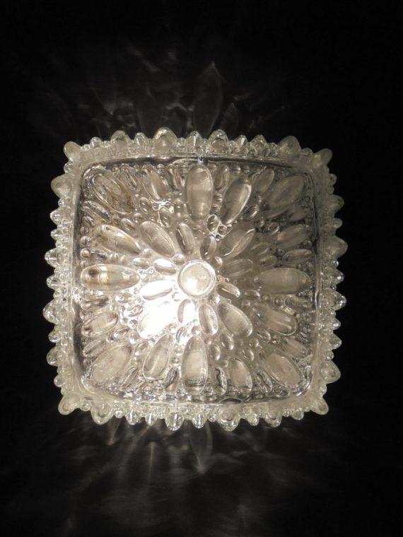 ancien luminaire applique ou plafonnier allemand limburg