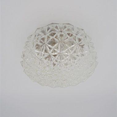 luminaire plafonnier applique rond verre