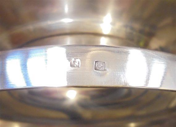 plat metal argente