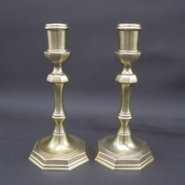 bougeoirs chandeliers laiton mat
