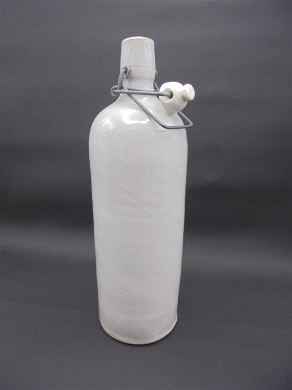 ancienne bouteille flacon en gres vaisselle
