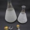 carafe vintage verre granite
