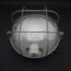 ancien plafonnier applique vintage bloc industriel globe verre socle bakelite