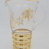 ancien service a orangeade vintage retro annees 60 70 verre et or