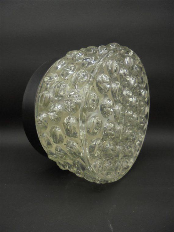 applique ou plafonnier petit modele vintage verre